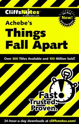 Cliffsnotes On Achebe's Things Fall Apart By Chua, John/ Pavlos, Suzanne